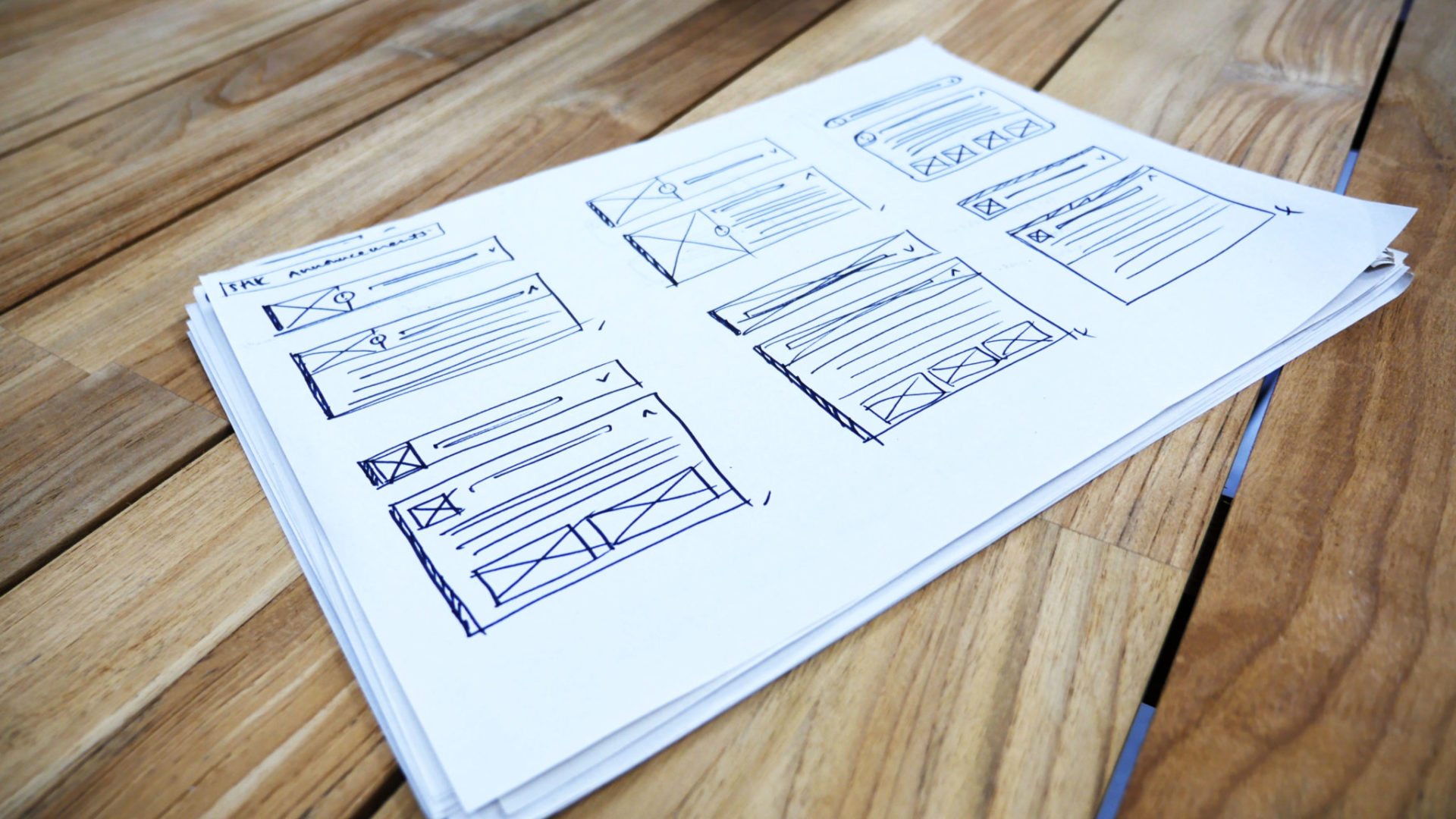 SHK Wireframing